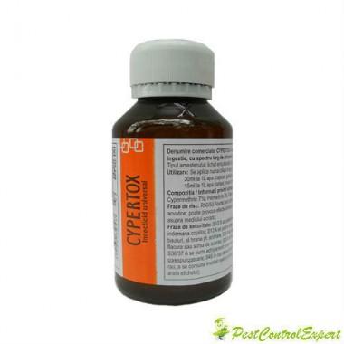 Insecticid profesional de contact si de ingestie anti furnici 140 mp - Cypertox 100 ml