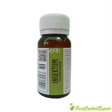 Substanta universala anti purici destinata profilaxiei sanitare umane 50 mp - Insektum 50 ml