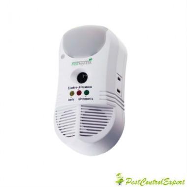 Dispozitiv cu ultrasunete, unde electromagnetice si purificator de aer Pest Repeler Ultimate AT 5 in 1 Electronic Pest Control - 450 mp