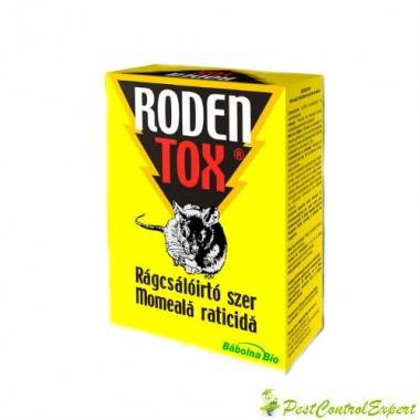 Raticid Rodentox pentru soareci, sobolani 500 gr