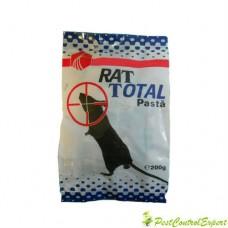Pasta raticida Rat Total pentru soareci, sobolani 200 gr.