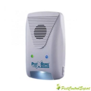 Dispozitiv cu ultrasunete si unde electromagnetic contra liliecilor PR 500.3-220 mp