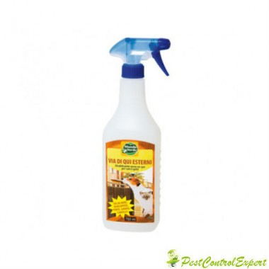 Spray contra cainilor si pisicilor pentru exterior - REP02 750 ml