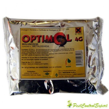 Moluscocid selectiv sub forma de granule Optimol 4 g 500 gr.