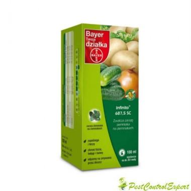 Fungicid cu actiune sistemica Infinito 687 5 sc 100 ml