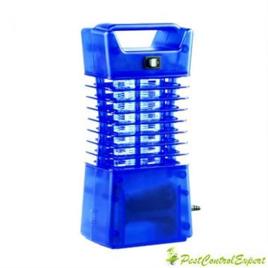 Isokat Mobil 62330 - Distrugator cu lumina ultravioleta anti insecte ideal pentru vacanta si casa 25 mp