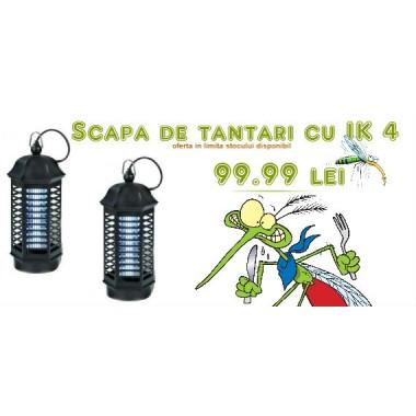 Aparat cu lampa UV anti tantari, muste, molii, viespi Pestmaster IK 4
