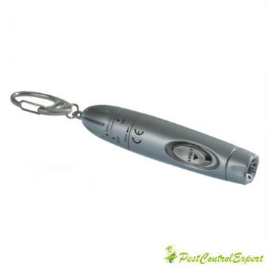 Anti Stich cu LED 73260 - Aparat cu ultrasunete portabil anti tantari cu lanterna 6 m