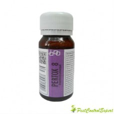 Substanta concentrata de culoare galbuie, anti tantari ce acopera ~ 70 mp - Pertox 8 - 50 ml