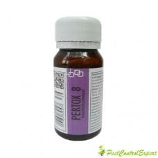 Substanta concentrata de culoare galbuie, anti molii ce acopera ~ 70 mp - Pertox 8 - 50 ml