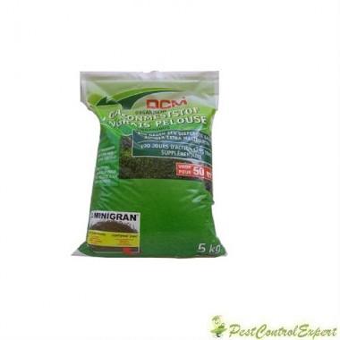 Fertilizant organic pentru gazon NPK 8-6-7+3 MgO DCM 5kg