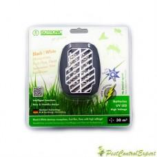 Aparat portabil cu ultraviolete anti insecte (tantari, muste, purici, molii) Black White 25160/30 mp
