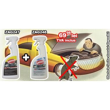 Oferta speciala pentru protectia autoturismului Spoof ZAG247 + Spoof ZAG248