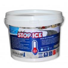 STOP ICE Produs biodegradabil pentru deszapezire, prevenire/combatere gheata, dezghetare rapida 2.5kg
