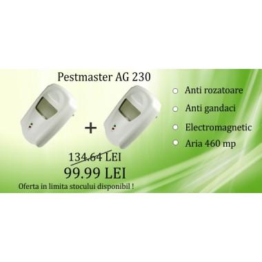Pest Repeller Ultimate AG 230 cu unde electromagnetice anti gandaci de bucatarie, rozatoare 230 mp