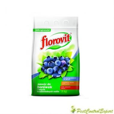 Ingrasamant specializat granule pentru afine/rhododendroni Florovit 3 Kg.