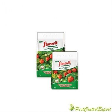 Ingrasamant specializat granule pentru capsuni, fragi si fructe de padure Florovit 3 Kg.