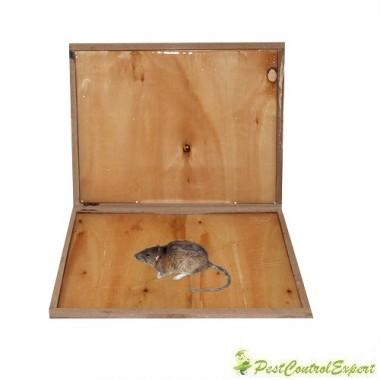 Capcana din lemn pentru combaterea rozatoarelor Glue Rat Wood 2buc.