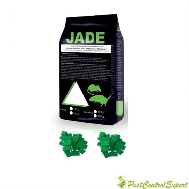 Raticid baton cerat Jade, ideal pentru spatii umede 100gr.