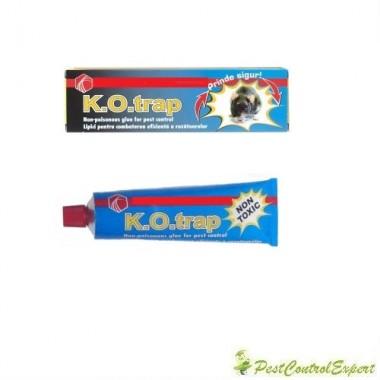 Lipici non-toxic pentru soareci si sobolani K.O.trap 135gr.