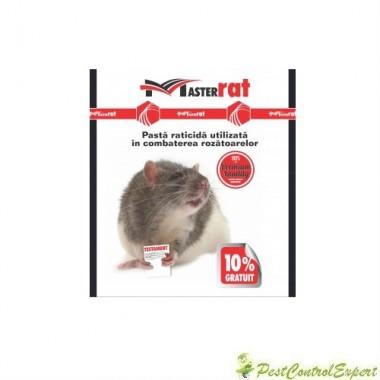 Raticid MasterRat sub forma de pasta rosie anti rozatoare 100gr.