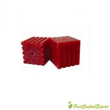Raticid bloc cerat MasterRat, ideal pentru spatii umede 200gr.