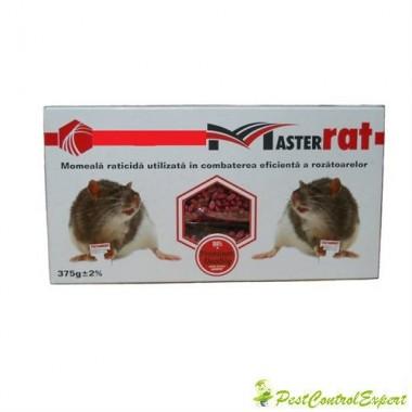 Raticid MasterRat sub forma de grau anti rozatoare 375gr.