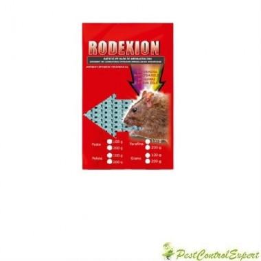 Raticid baton cerat Rodexion, potrivit pentru spatii umede 200gr.