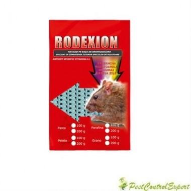 Raticid Rodexion sub forma de pasta anti soareci, sobolani 100gr.