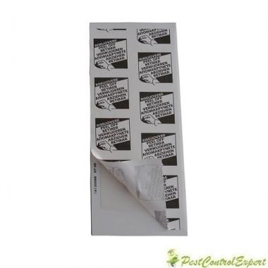 Placa adeziva din carton cu atractant alimentar contra soarecilor STOP MINI PLASTIC